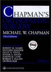 chapmans orthopaedic surgery third edition 1